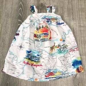 🇺🇸 BabyGap Map Dress 🇺🇸